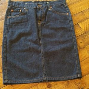 Lucky Brand Denim Skirt